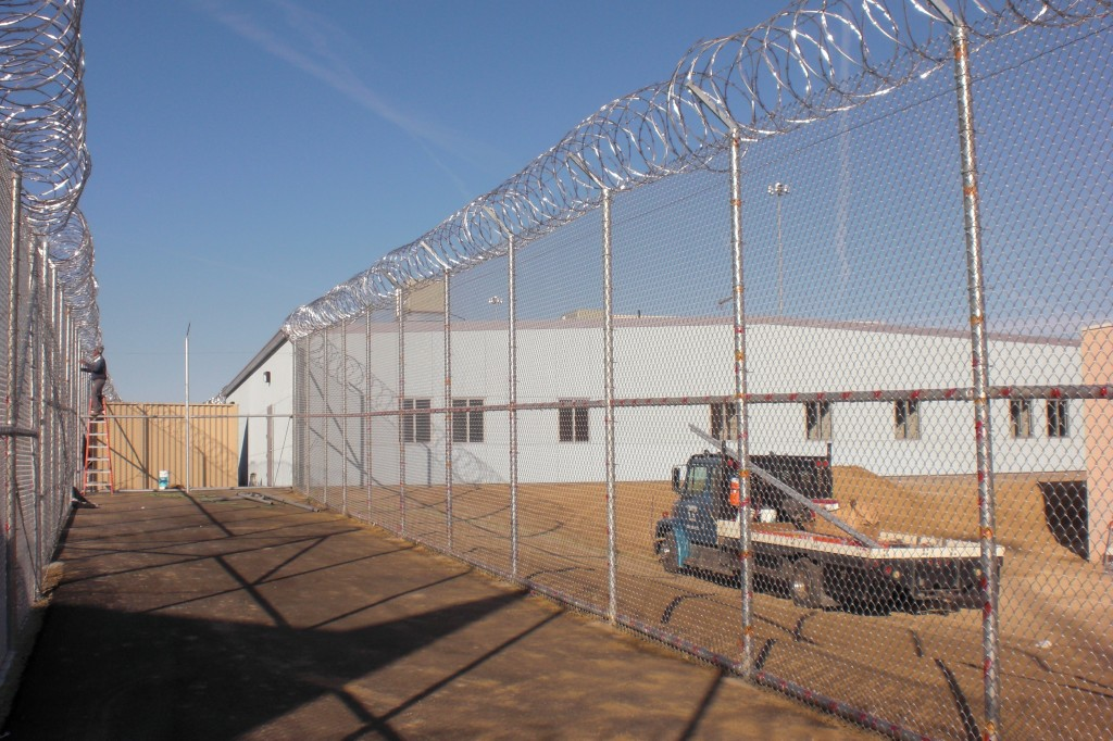 Exterior of Avenal State Prison Modular Health Center
