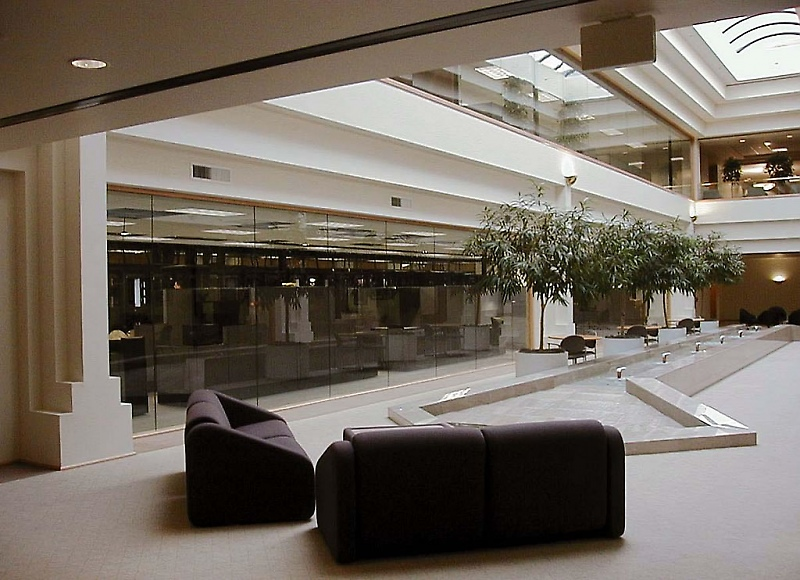Interior of Office Building at 110 & 120 Stony Point Road, Santa Rosa, CA
