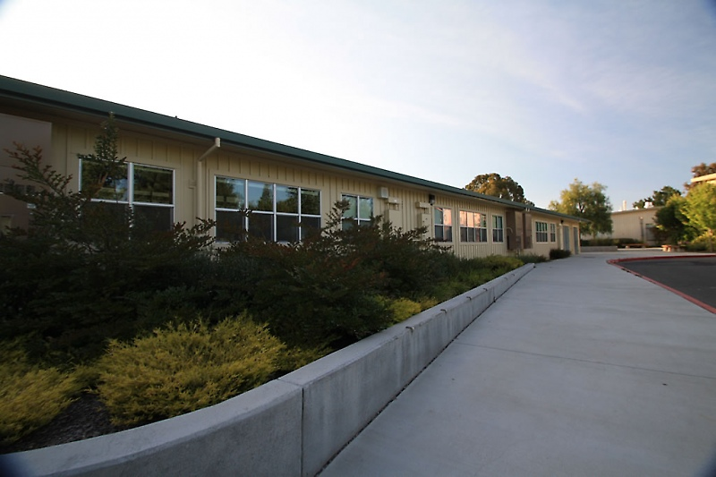Exterior of Henry Hall Middle School Addition