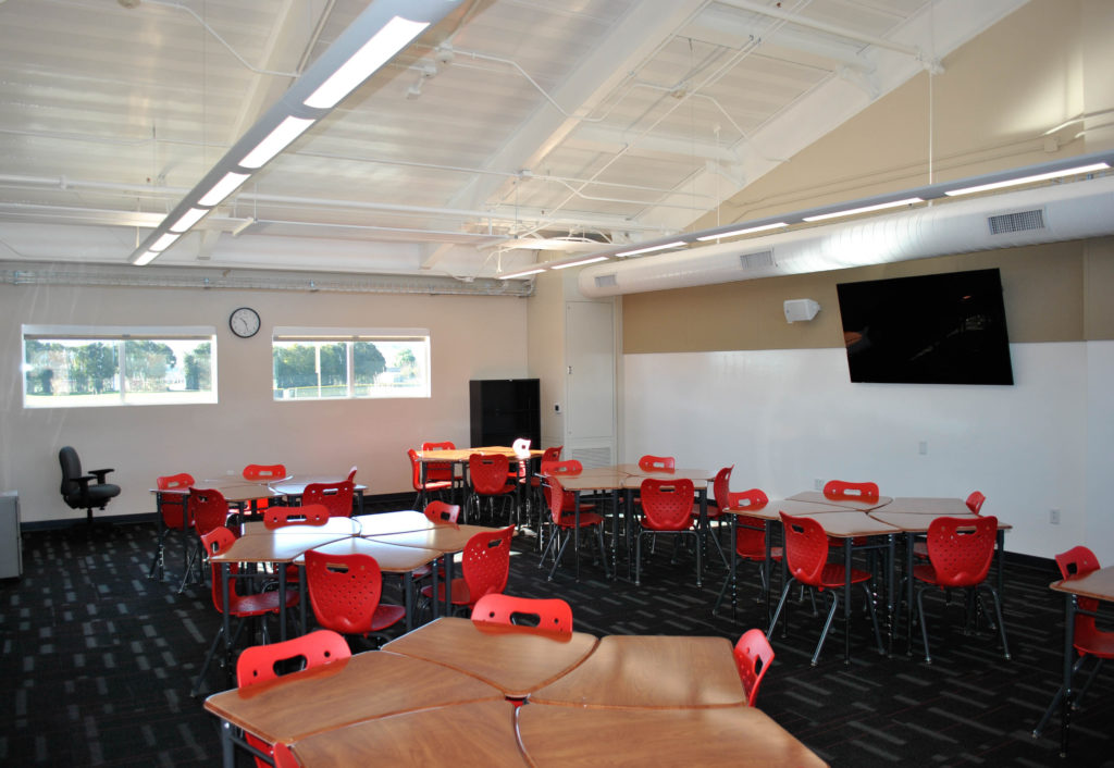 San Benito High School Visual and Performing Arts Building Classroom