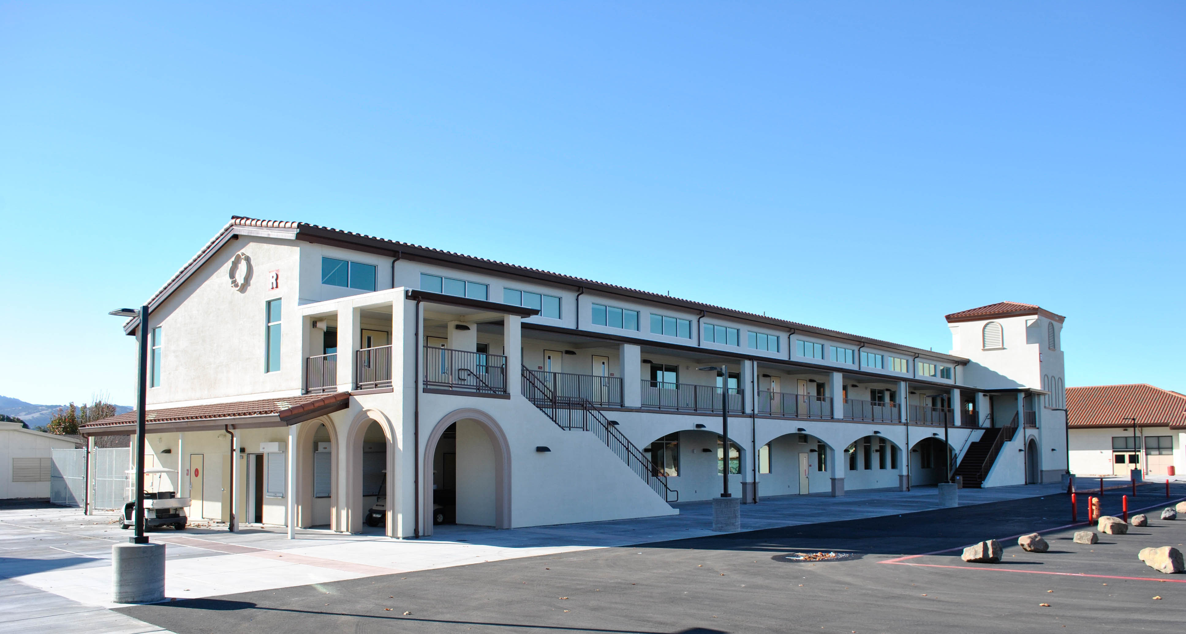 San Benito High School Visual and Performing Arts Building - Exterior