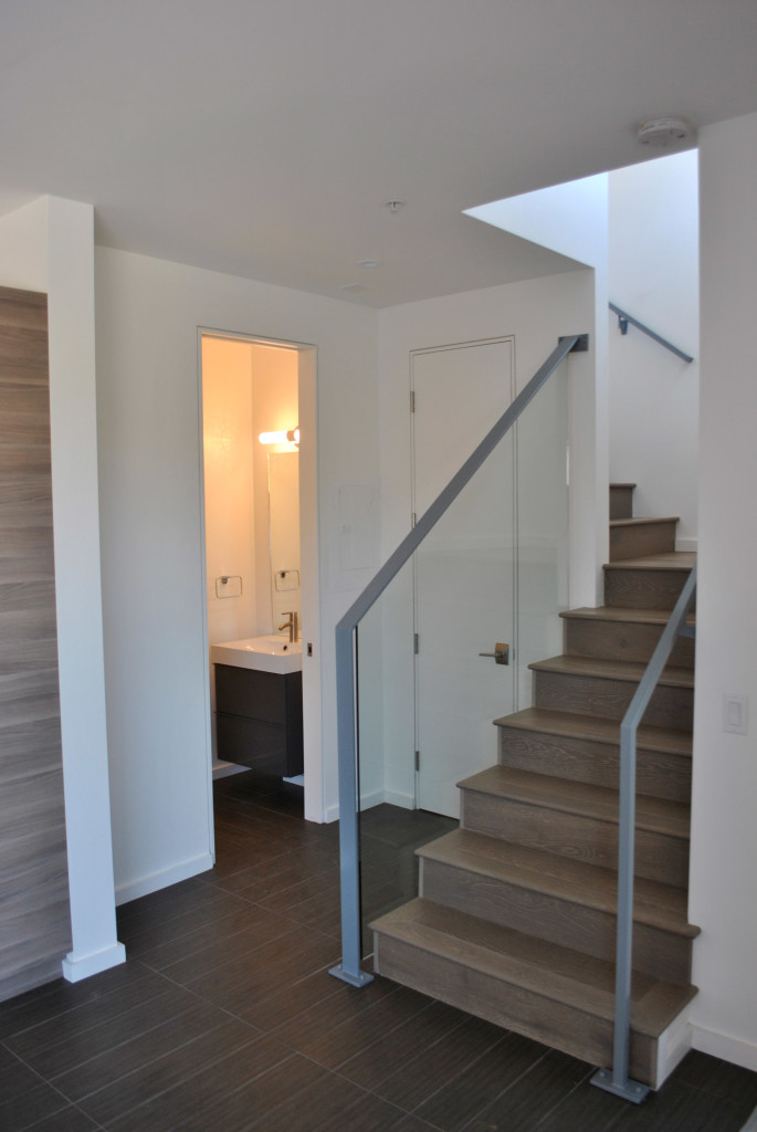 Blithedale Commons Module Multifamily Entry Stairwell
