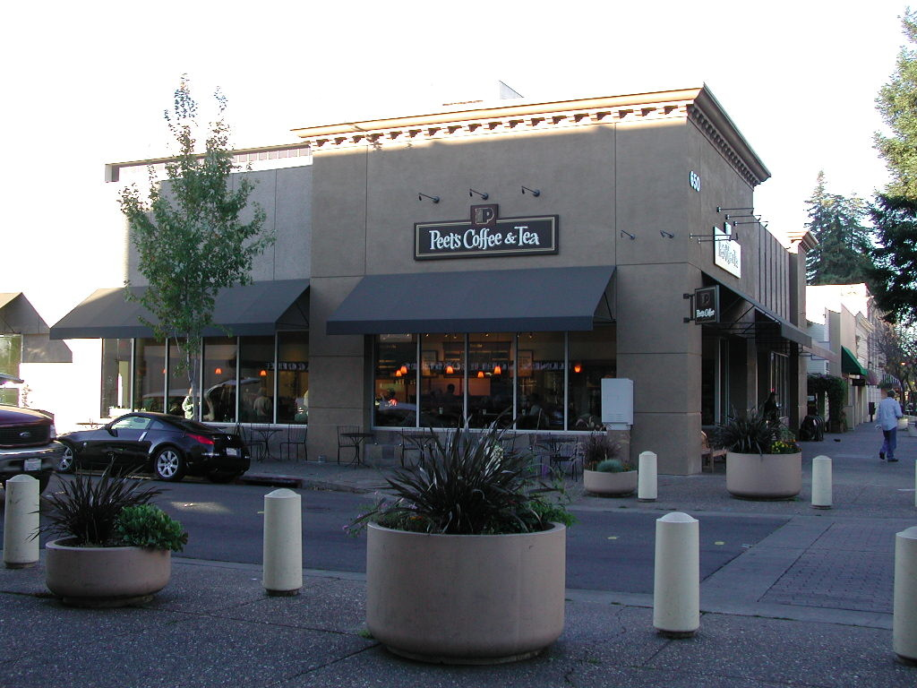 Renovated Peets Coffee Santa Rosa Exterior