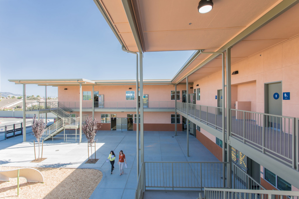 Frank Paul Elementary 2 Story Classroom Building Exterior