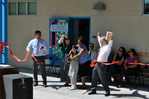 Warm Springs Elementary School Modular Classroom Opening Ceremony