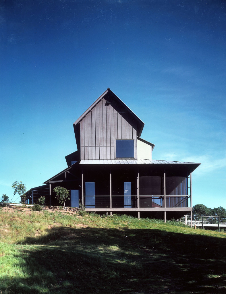 Exterior View of Modern Home