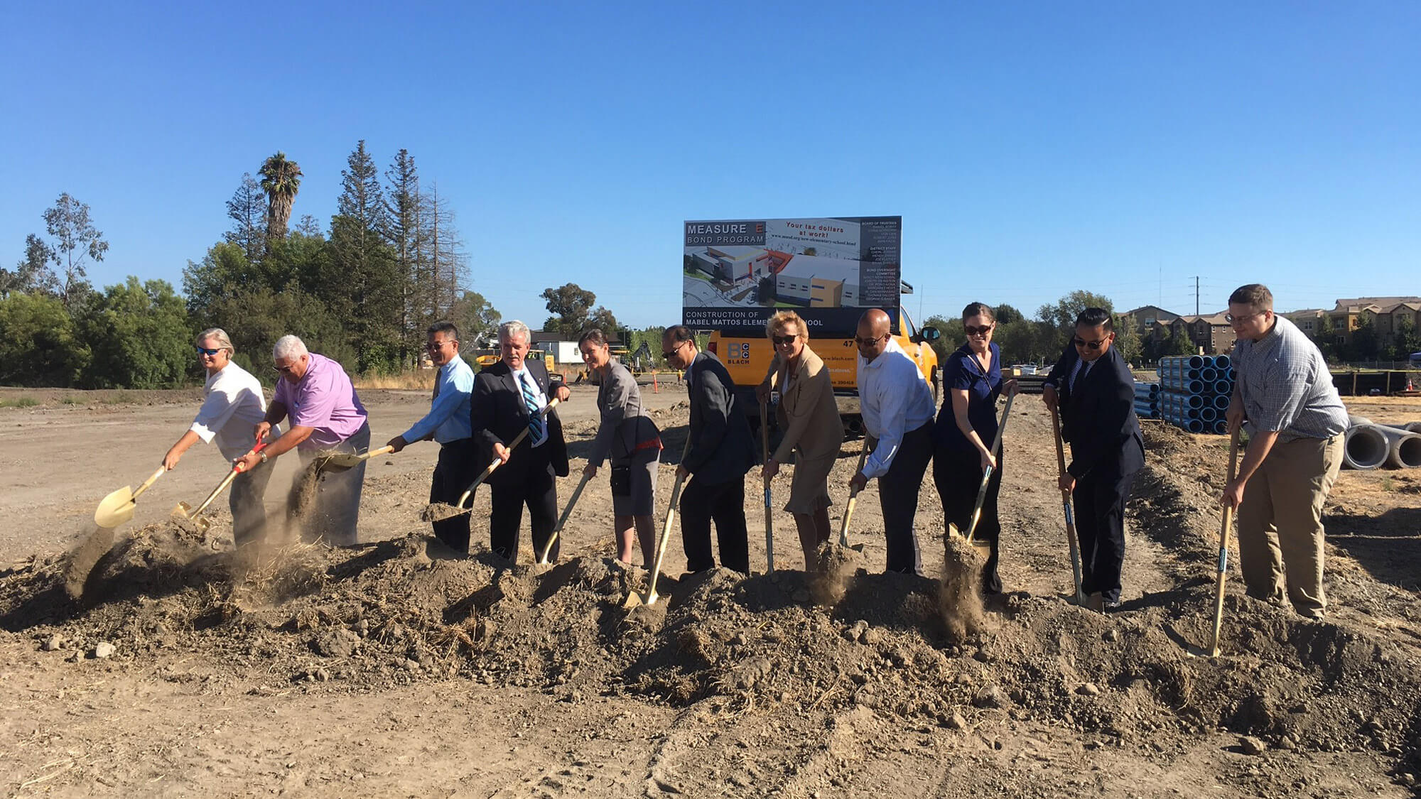 Mabel Mattos Elementary School Groundbreaking
