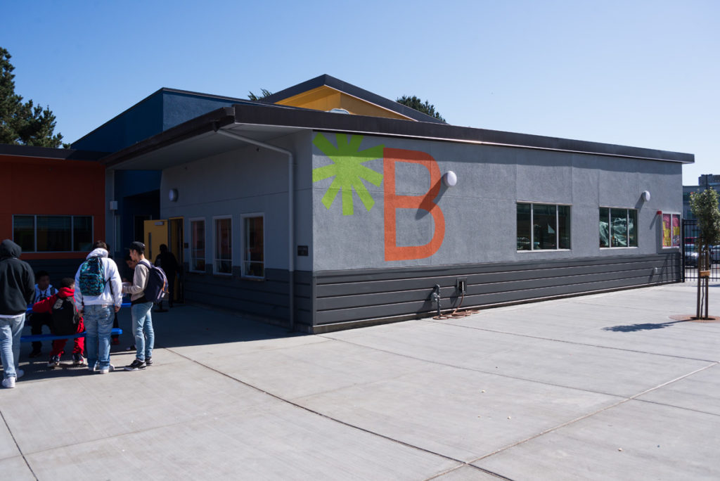 Summit Shasta High School Exterior