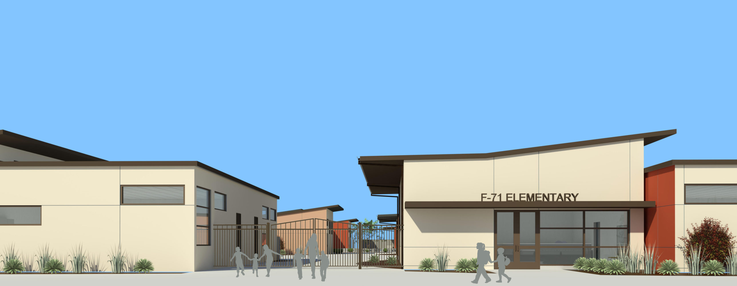 Riego Creek Elementary School Architect Rendering