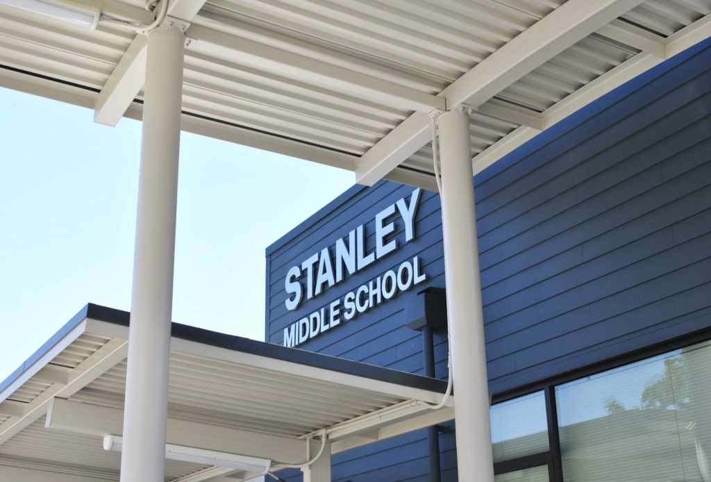 Stanley Middle School Exterior