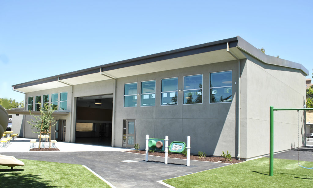 Tice Creek K-8 School Mulitpurpose Building Exterior