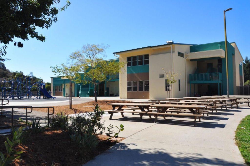 Main Street Elementary School 2-Story Classroom Building Exterior