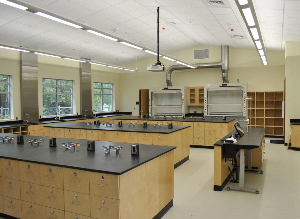 SRJC Petaluma Science Classroom